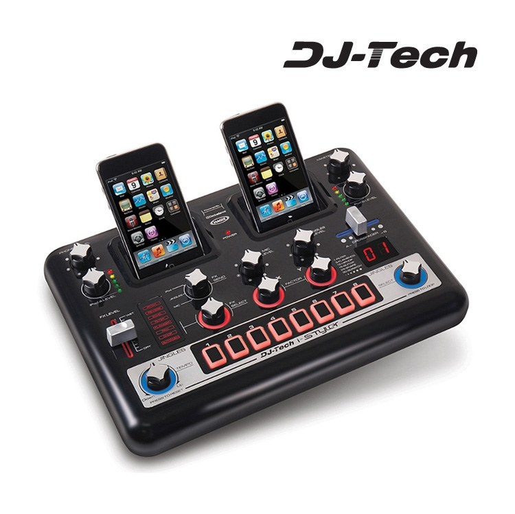 Base Mezclas Ipod Dual Dj Tech I-styler