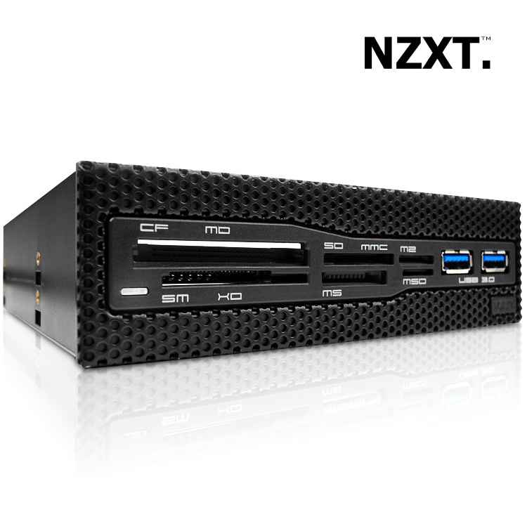 Ver Frontal NZXT Aperture M 525 Card Reader Usb30