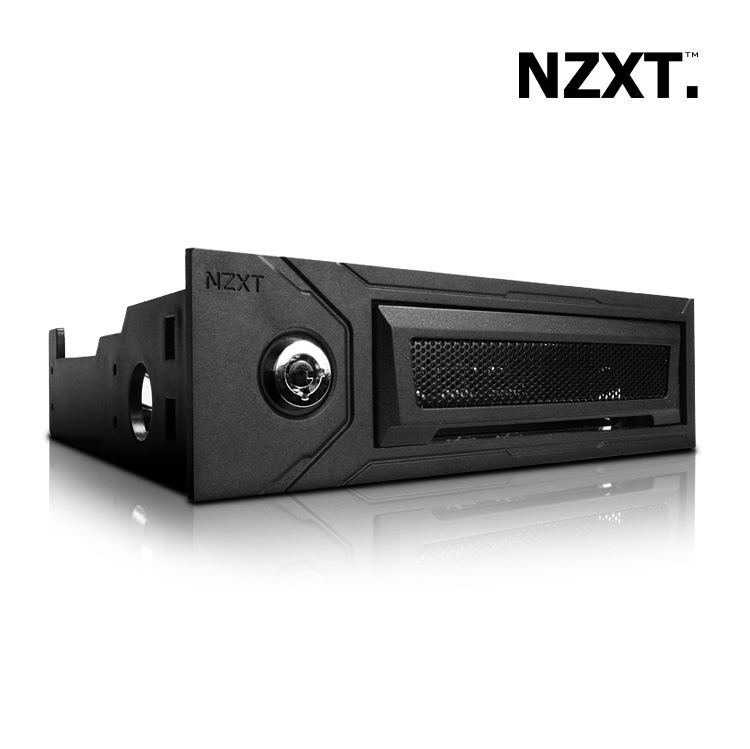 Frontal Antirrobo Dispositivos Nzxt Bunker 525