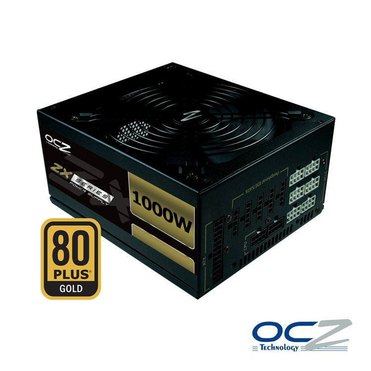 Fuente Ocz Zx Series 1000w 80plus Gold Modular