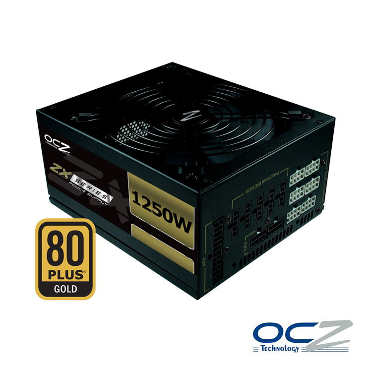 Fuente Ocz Zx Series 1250w 80plus Gold Modular