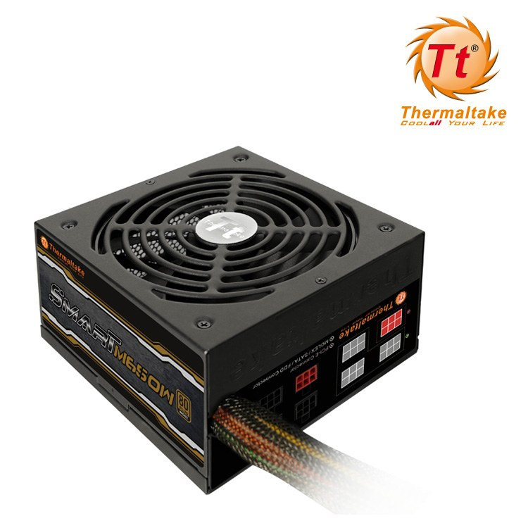 Fuente Thermaltake Smart Modular 650w 80  Bronze