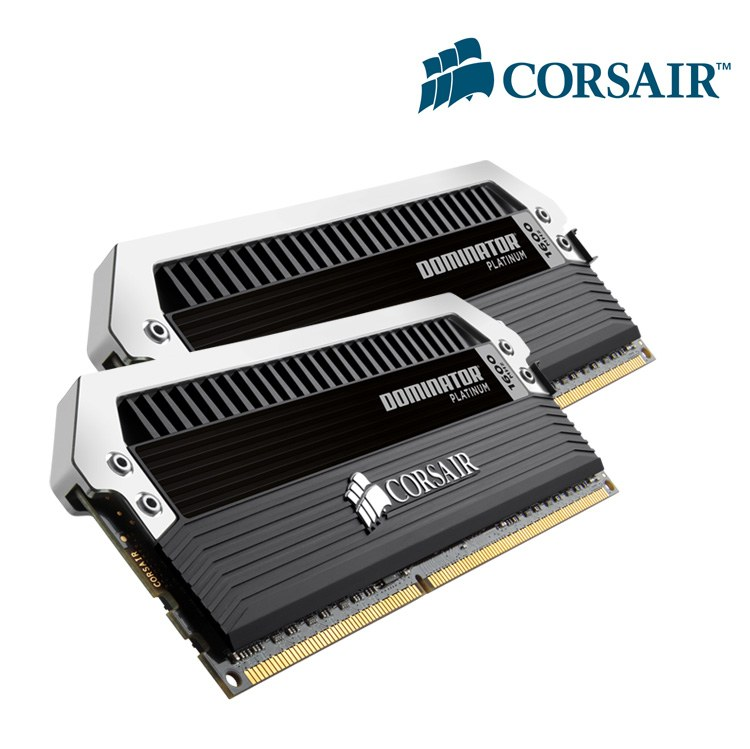 Memoria Corsair Dominator Platinum - 2x4gb 15v