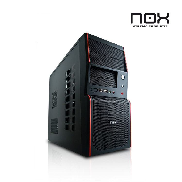 Mini Torre Micro Atx Nox Nx-micro  Mesh  80mm Fan