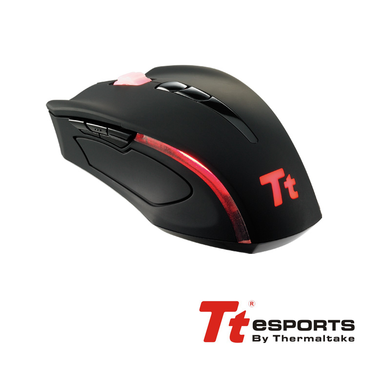 Raton Gaming Tt Esports Black Element 6500 Dpi