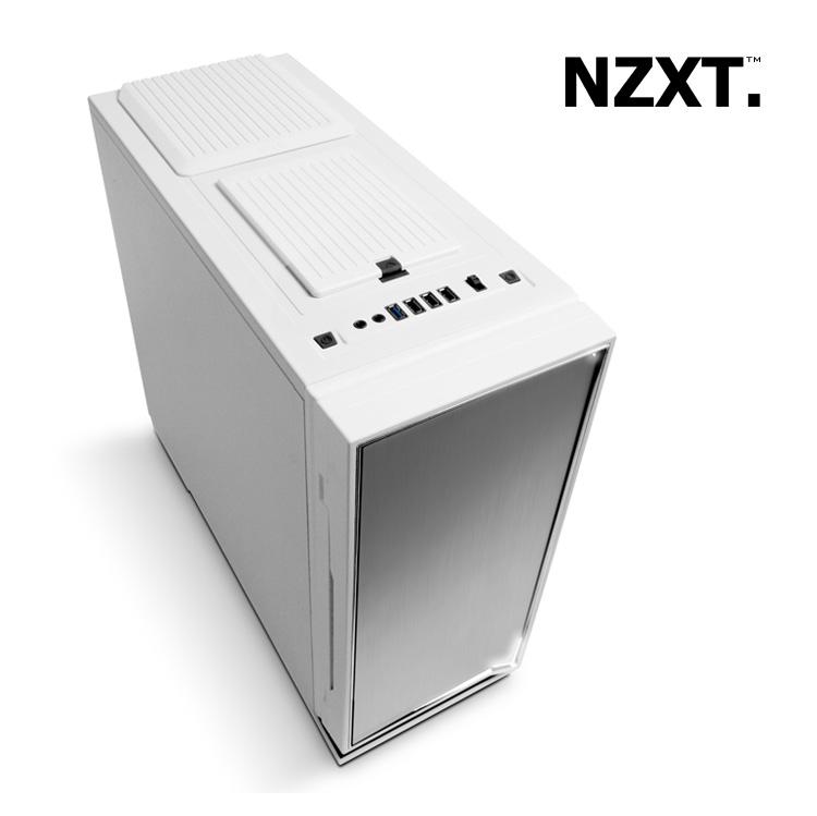 Caja Semitorre Atx Semitorre Atx Nzxt h2 Blanca