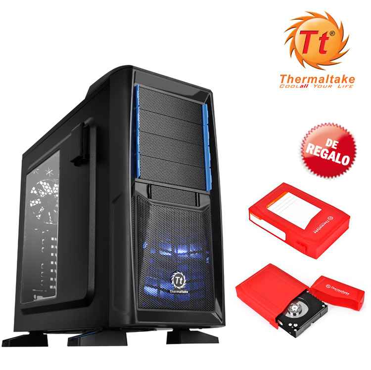Semitorre Atx Thermaltake Chaser A41 Negra