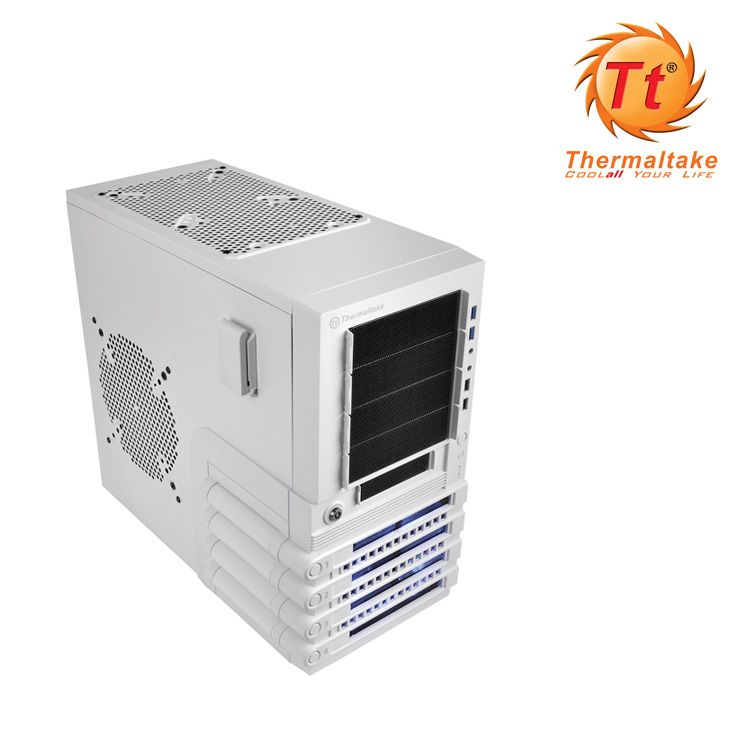 Semitorre Atx Thermaltake Level 10 Gts Snowedition