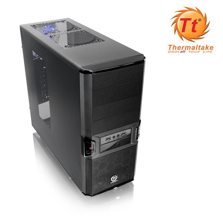 Semitorre Atx Thermaltake V3 Black Edition