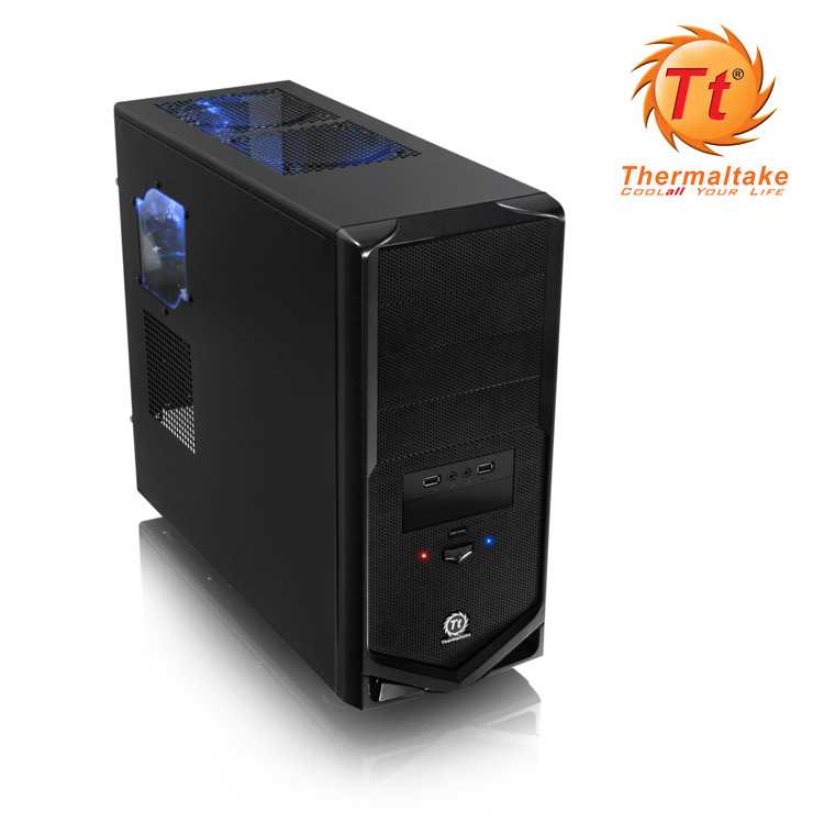 Semitorre Atx Thermaltake V4 Black Edition