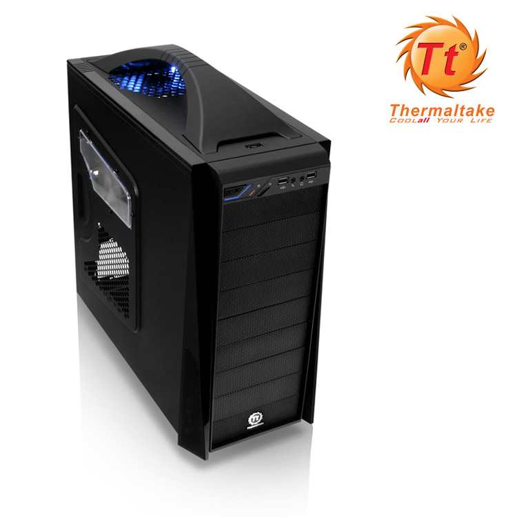 Semitorre Atx Thermaltake V5 Black Edition
