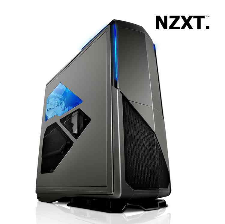 Torre Atx Nzxt Phantom 820 Gunmetal 3x200mm