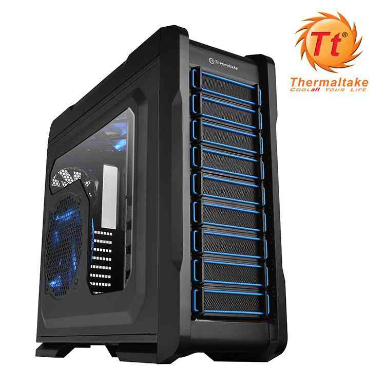 Torre Atx Thermaltake Chaser A71 Negra Ventana