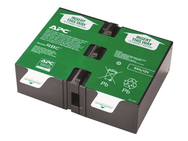 Ver APC REPLACEMENT BATTERY CARTRIDGE 124