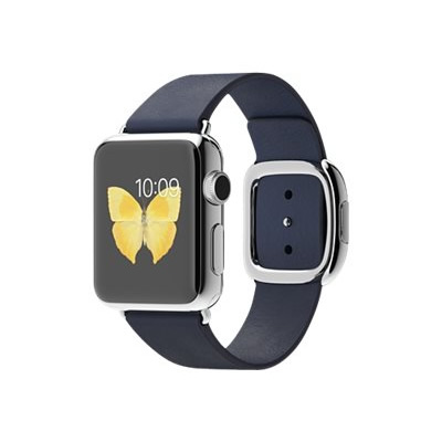 Ver APPLE WATCH 38MM ACERO CORREA AZUL HEBILL MODER M