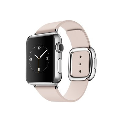 Ver APPLE WATCH 38MM ACERO CORREA ROSA HEBILL MODER M