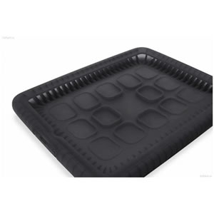 Belkin Funda Goma Bubble For Ipad Negra