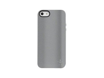 Belkin Funda Grip Metalica For Iphone 5 Aluminio