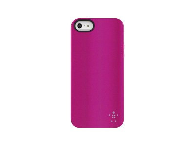Belkin Funda Grip Metalica For Iphone 5 Morado