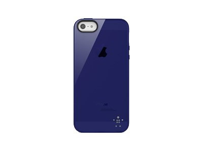 Belkin Funda Grip Sheer For Iphone 5 Azul Marino
