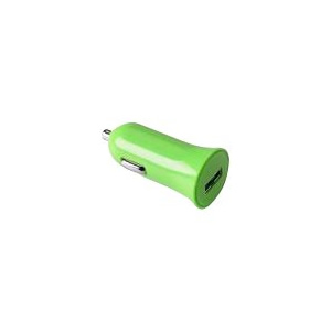 CELLY CARGADOR COCHE USB 1 A VERDE