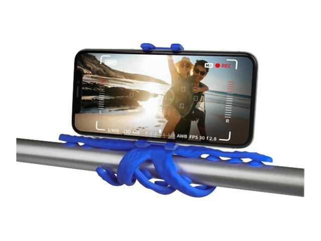 Celly Soporte Flexible Movil Camara Squiddy Azul