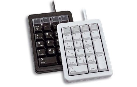 Ver CHERRY Keypad G84 4700 USB Black Negro