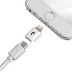 Celly ADLIGHTWH Lightning Color blanco adaptador de cable