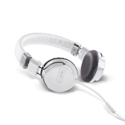 Ver Celly HIPHOPWH Binaurale Diadema Color blanco auricular con microfono
