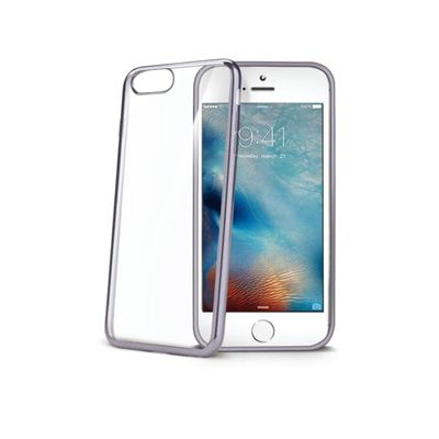 Ver Celly LASER800DS 47 Protectora Plata Transparente funda para telefono movil