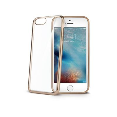 Ver Celly LASER800GD 47 Protectora Oro Transparente funda para telefono movil