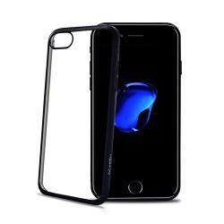 Celly LASER801BE 55 Protectora Negro Transparente funda para telefono movil