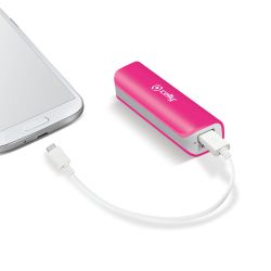 Ver Celly Li Ion 2600mAh Ion de litio 2600mAh Rosa