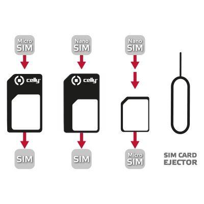 Ver Celly SIMKITAD SIM card adapter adaptador para tarjeta de memoria sim