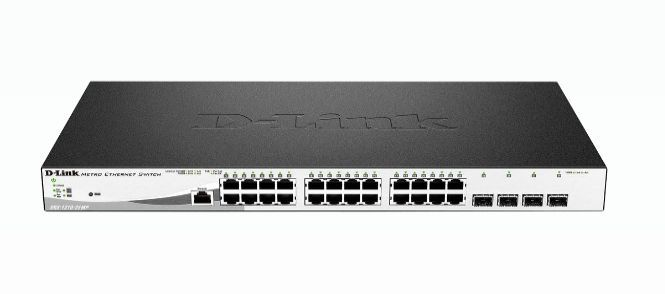 D Link DGS 1210 28MP Gestionado L2 Gigabit Ethernet 10