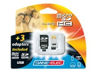 Dane-elec Tarjeta De Memoria Flash - 8 Gb Da-4in1-08g-r