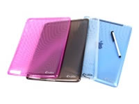 E-vitta Funda Protectora Flexible Ipad2 Red Stylus