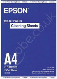 Epson Papel A4 Ink Jet Cleaning Sheet 3