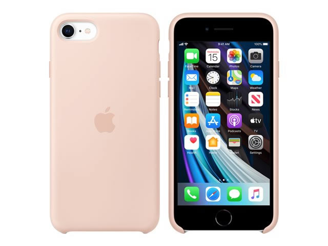 Funda Iphone Se 2020 Silicone Case Rosa Arena