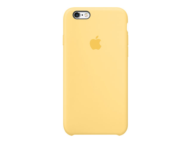 Moviles funda silicona para iphone 6s amarillo - Fundas iphone silicona ...