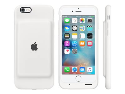 Ver FUNDA SMART BATTERY CASE PARA IPHONE 6S  BLANCO