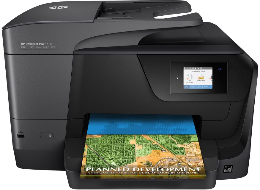 Ver HP OfficeJet Pro 8710 AiO