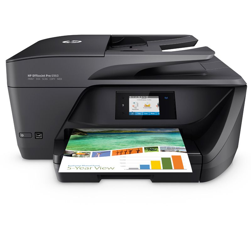 HP OfficeJet Pro 6960 AiO A4 Wifi Negro