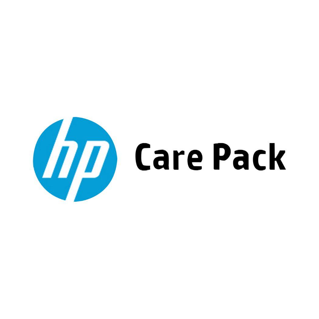 Ver HP Soporte de 4 anos con respuesta al siguiente dia laborable y canal remoto con piezas para LaserJet M605