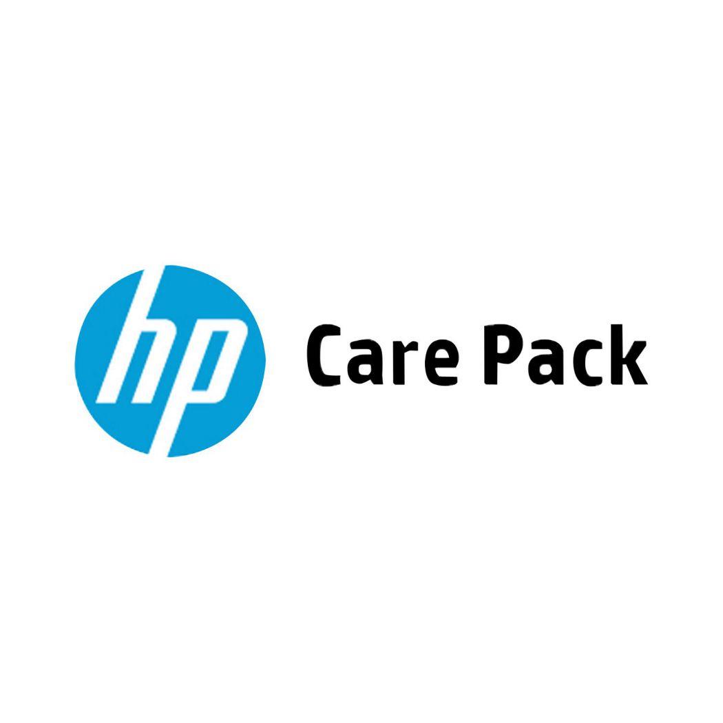 HP Soporte de hardware de 4 anos con respuesta al siguiente dia laborable para LaserJet M402