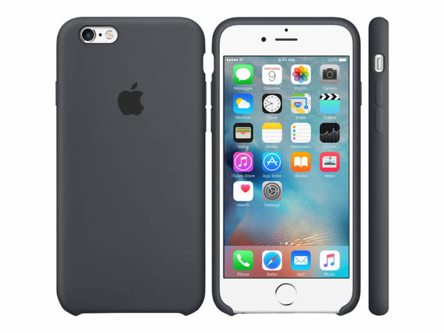 Ver IPHONE 6S FUNDA DE SILICONA GRIS