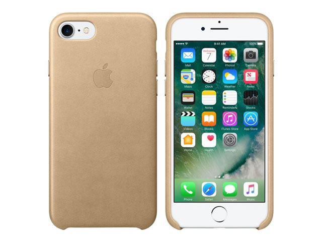 Ver IPHONE 7 FUNDA CUERO CANELA