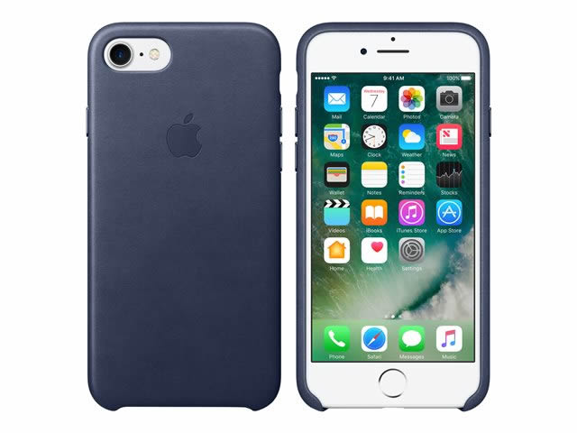 Ver IPHONE 7 FUNDA CUERO MIDNIGHT BLUE