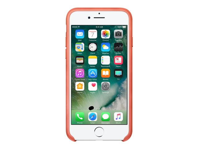 Ver IPHONE 7 FUNDA CUERO ROSA GERANIO