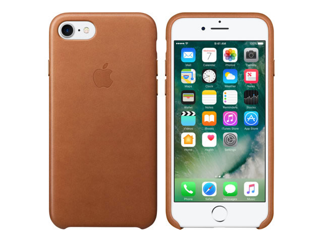 Ver IPHONE 7 FUNDA CUERO SADDLE BROWN